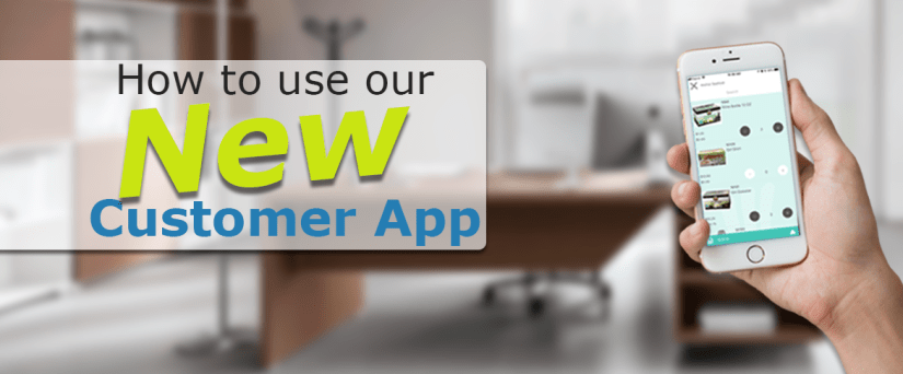 How to use our Customer Self Ordering App
