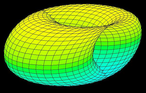 Fourth dimensional object's shadow.