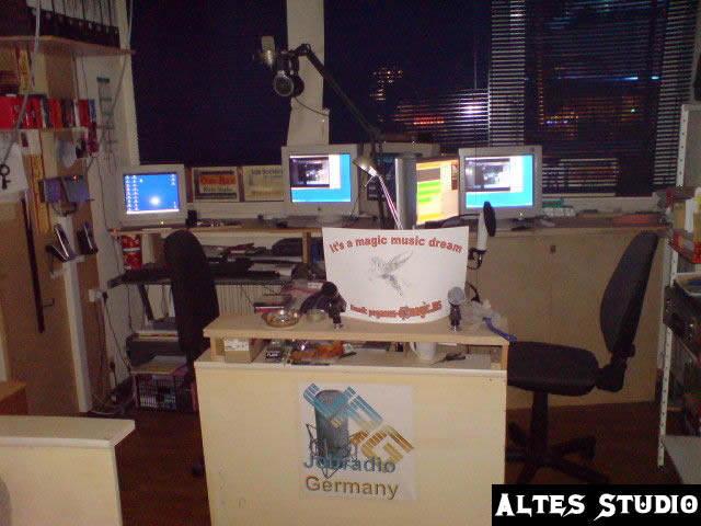 Altes Studio unter der Alten Adresse von Jobradio Germany