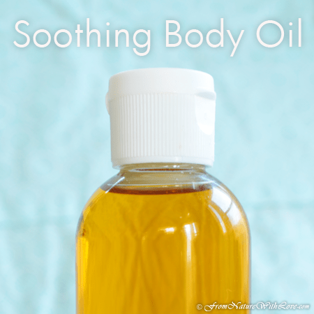 Flax and Rose Hip Body Oil Recipe: A Soothing Body Oil for Prenatal Care | The Natural Beauty Workshop