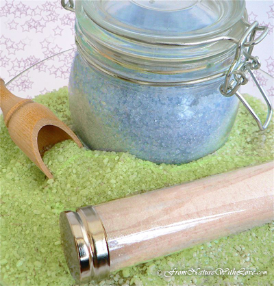 Bath Tub Fairy Dust Recipe | The Natural Beauty Workshop