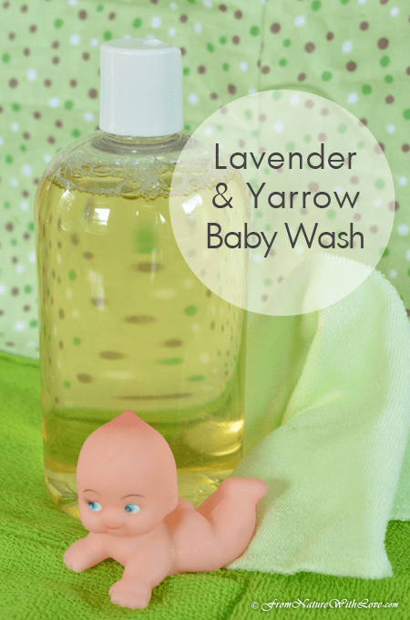 Lavender & Yarrow Baby Wash Recipe | The Natural Beauty Workshop