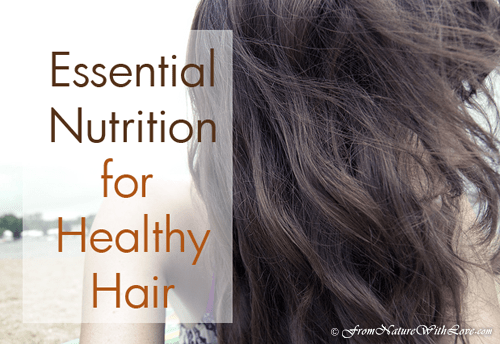 Essential Nutrition for Healthy Hair | The Natural Beauty Workshop | DIY Beauty