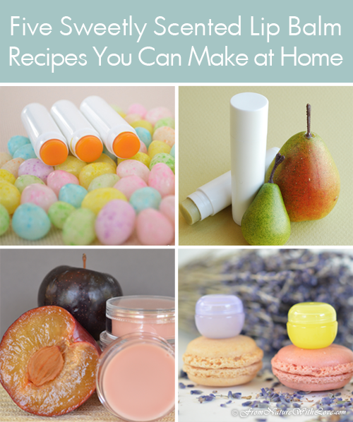 Five Sweetly Scented Lip Balm Recipes You Can Make at Home | The Natural Beauty Workshop