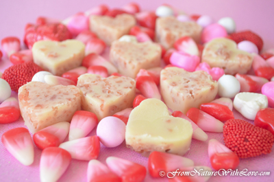 Cocoa Rose Bath Melts | The Natural Beauty Workshop