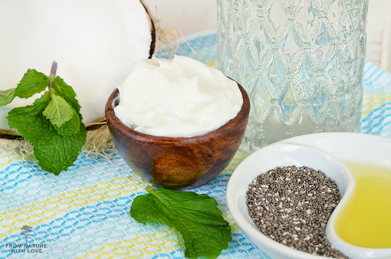 Chia Coconut Body Lotion Recipe