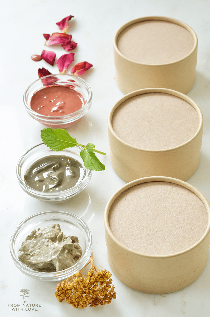 Simple Clay Facials - Three Ways