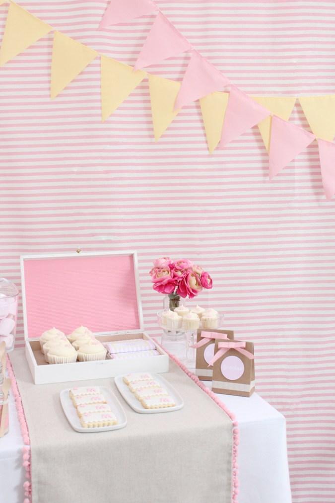 Comunion dulces mesa