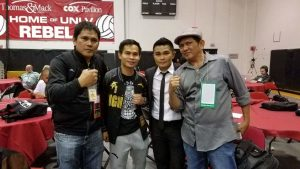 Somodio ug si Former world champion Hawaiian punch Brian Viloria nagpa hulagway sa tagsulat