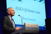 Brian Sussman receiving Life membership