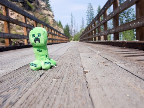 Creeper on a Trestle