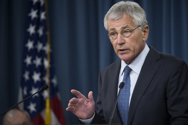 Hagel Outlines Budget Reducing Troop Strength, Force Structure