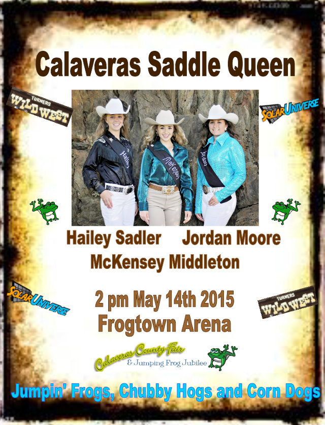Three Riding for Rodeo Crown! The Saddle Queen Competition Has Been Moved Up To 11am