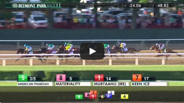 American Pharoah wins the Triple Crown – 2015 Belmont Stakes
