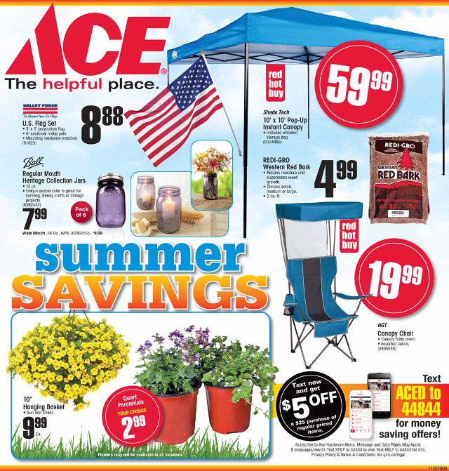 Arnold Ace Home Center Has The Deals For You This Weekend