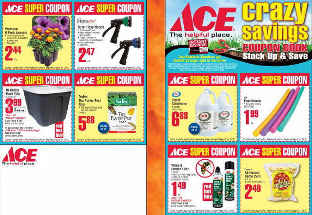 The Huge, Arnold Ace Home Center, Crazy Savings Coupon Days!