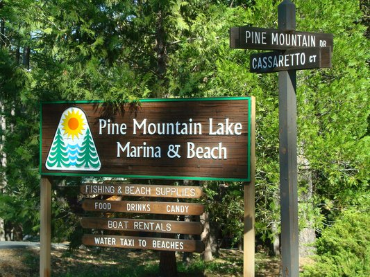 Pine Mountain Lake Tennis Court and Mailhouse Vandalism