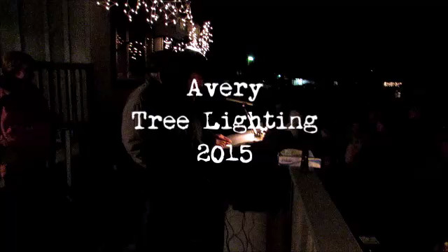 Avery Christmas Tree Leads The Way Video