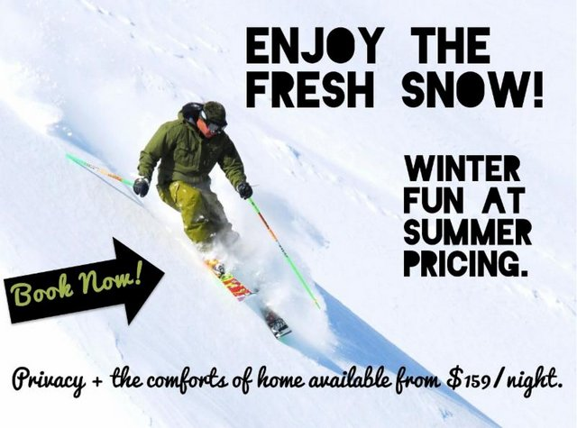 Book Your Bear Valley Vacation Rental At Summer Pricing