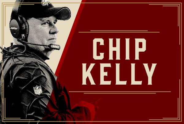 San Francisco 49ers Hire Chip Kelly as Head Coach