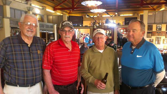 Greenhorn Creek Golf Resort Men's Club Results for Wednesday January 27, 2016