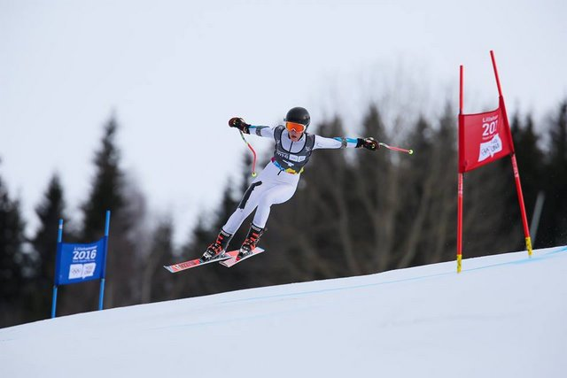 Strawberry's Keely Cashman 10th In Youth Olympic Super-G In Lillehammer Today!