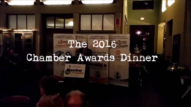 The 2016 Calaveras Chamber Awards Dinner Video