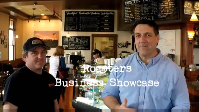 Roasters Coffee Corner Business Showcase With George Greaves