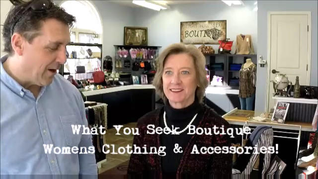 "Business Focus On ""What You Seek Boutique"" In Copperopolis"
