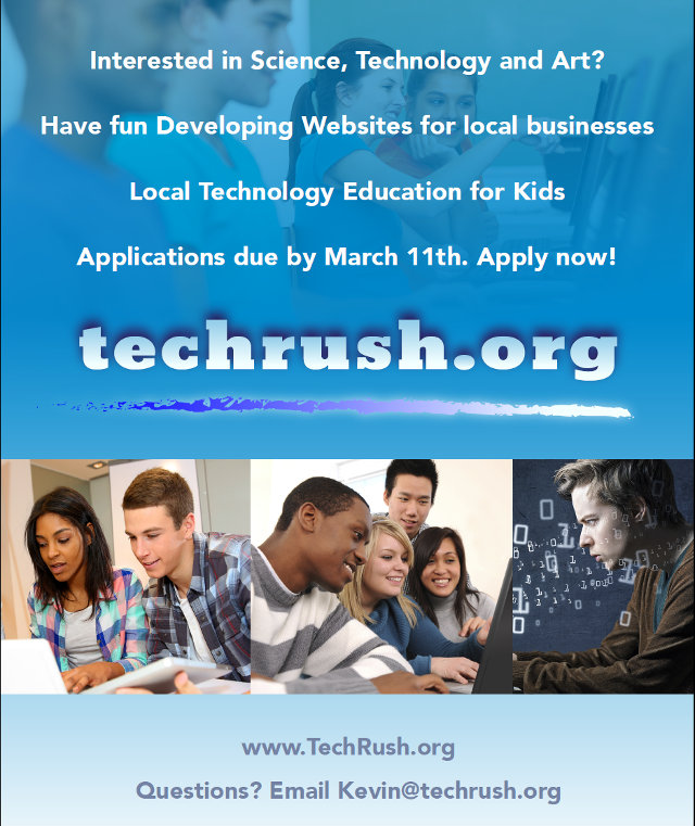 Apply Now For TechRush's Website Development Bootcamp!