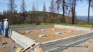 $50,000 Grant Given For Butte Fire Rebuilding Efforts…Contractors & Funds Needed For 80 Homes