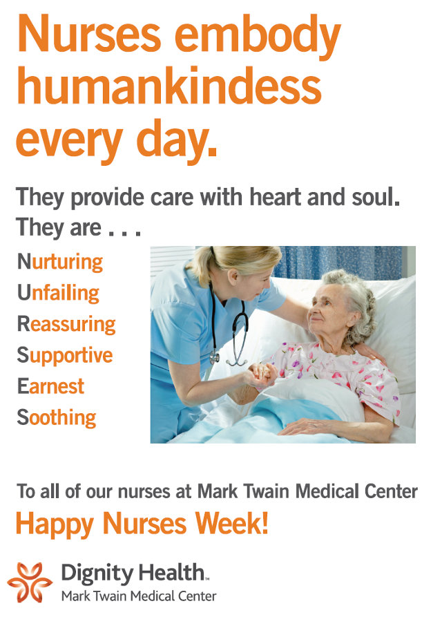 Mark Twain Medical Center Celebrates Nurses's Week