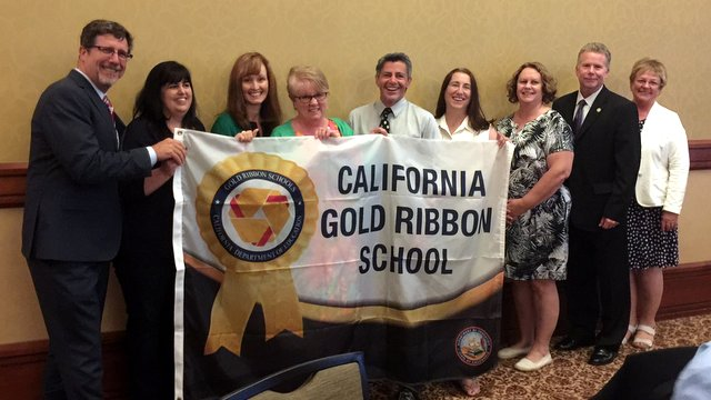 "Albert Michelson Elementary & Hazel Fischer School Have Been Recognized As ""GOLD RIBBON SCHOOLS."""