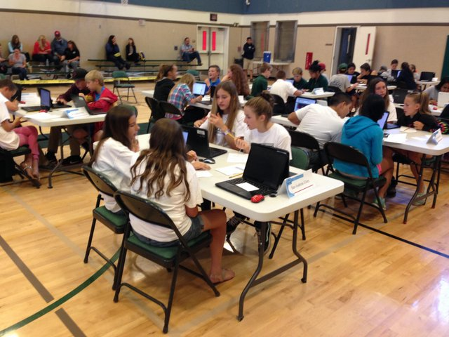 Countywide Math Mini Bowl Competition Goes Tech Savvy