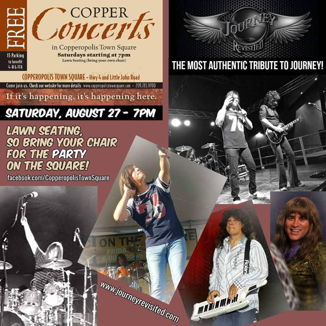 Journey Revisited Tomorrow Night At The Square!