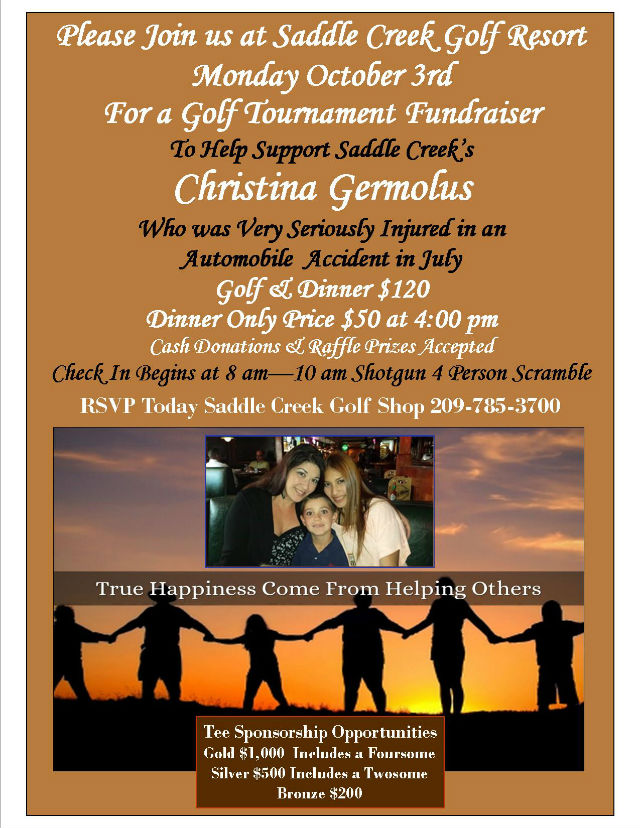 Saddle Creek Hosts Golf Tournament And Dinner Fundraiser