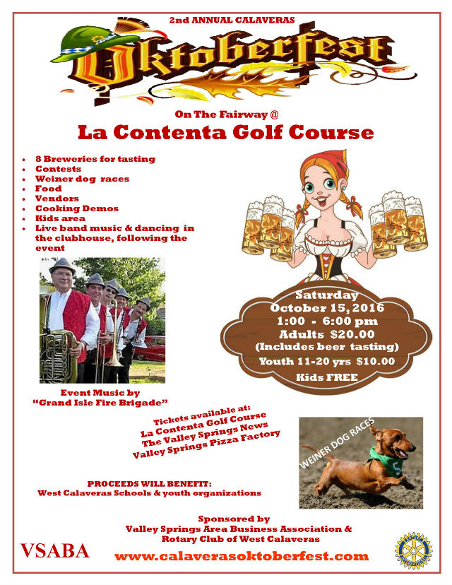 2nd Annual Calaveras Oktoberfest