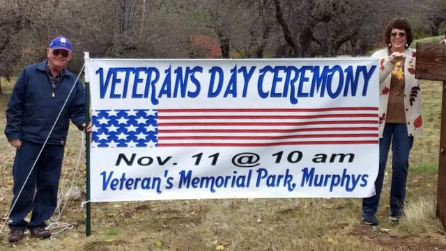 Don't Miss The Special Veterans Day Ceremony At Veterans Memorial Park