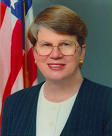 Former Attorney General Janet Wood Reno July 21, 1938 – November 7, 2016