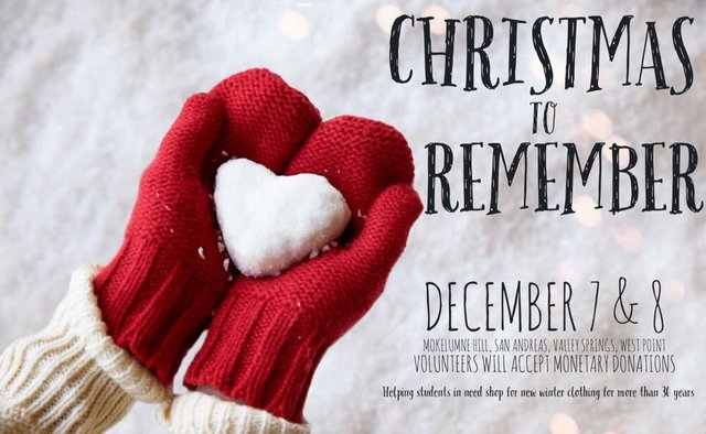 "The Christmas Spirit Continues With ""Christmas to Remember"" Fundraiser Dec. 7-8"