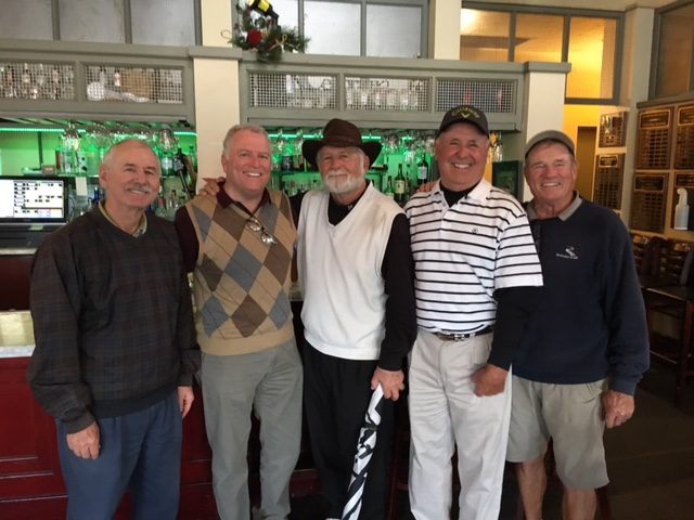 Greenhorn Creek Golf Resort Men's Club Results  Wednesday, December 14th