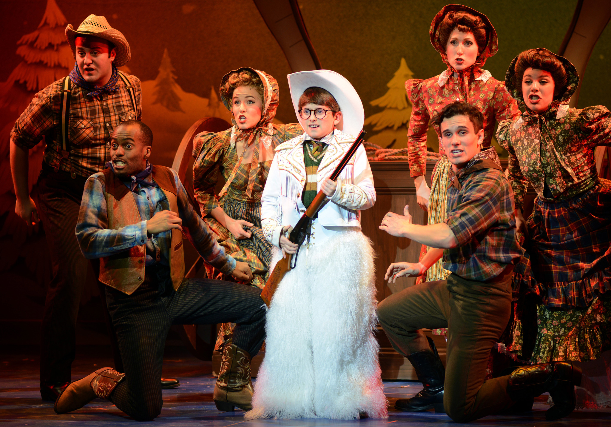 A Christmas Story Musical.Review A Christmas Story The Musical The Sappy Critic