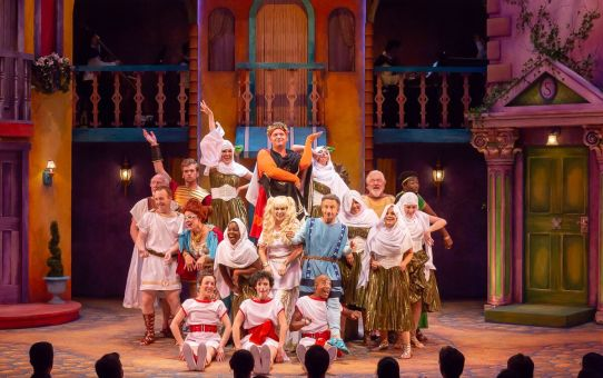REVIEW: A Funny Thing Happened on the Way to the Forum