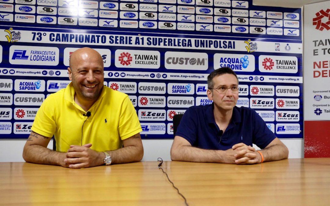 Lorenzo Tubertini è il nuovo allenatore della Taiwan Excellence Top Volley Latina