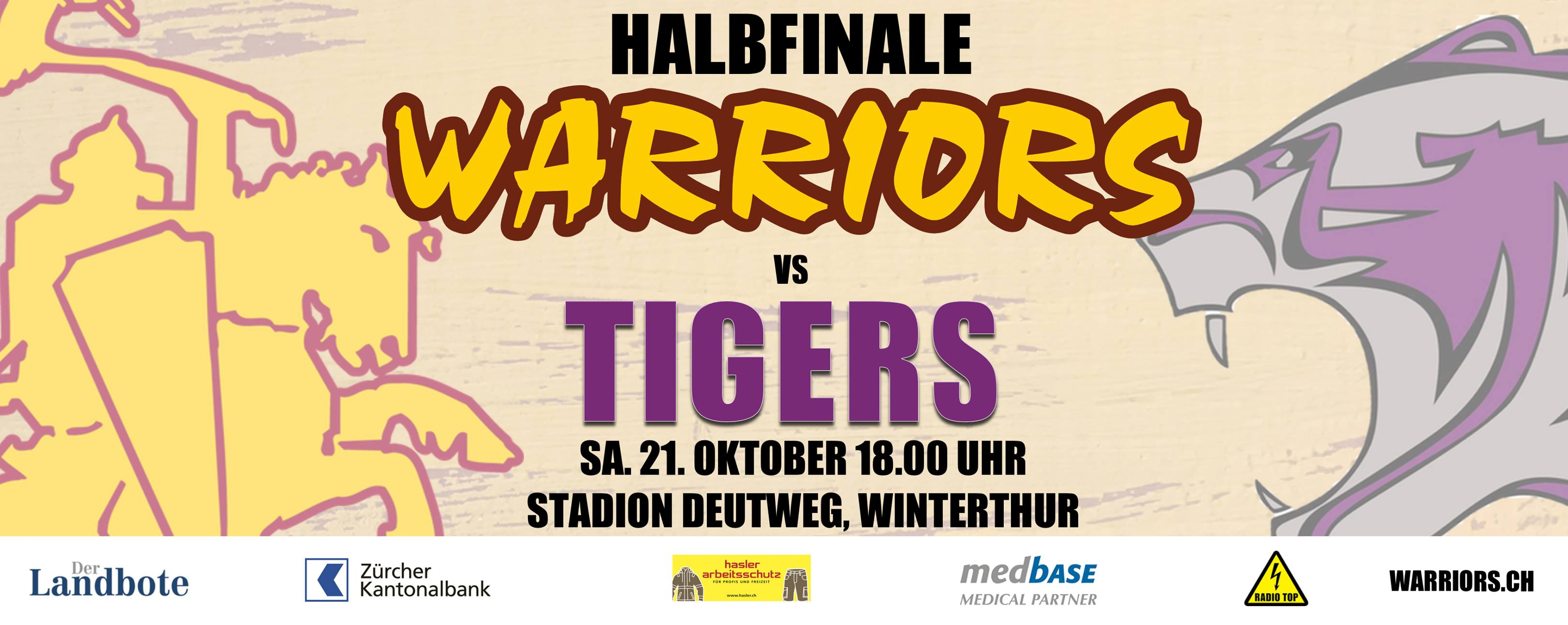 Playoffs: Warriors vs Tigers