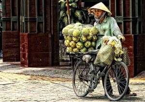 Fahrradtransport in Saigon Jürgen Bennoit