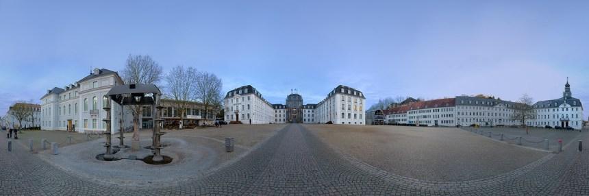 Schlosspanorama, Albert Damm