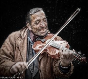 Geigenspieler, Hans-Jürgen Killich