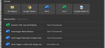 Enable Immersive Search and Rounded Corners in Windows 10
