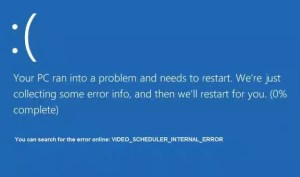 Fix: Video Scheduler Internal Error [0x00000119]
